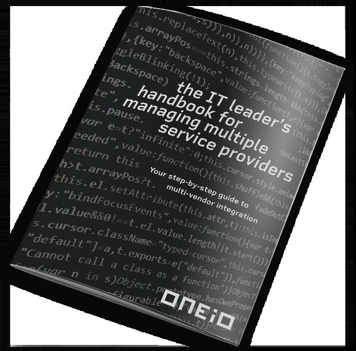 IT Leaders Handbook Mockup Cover